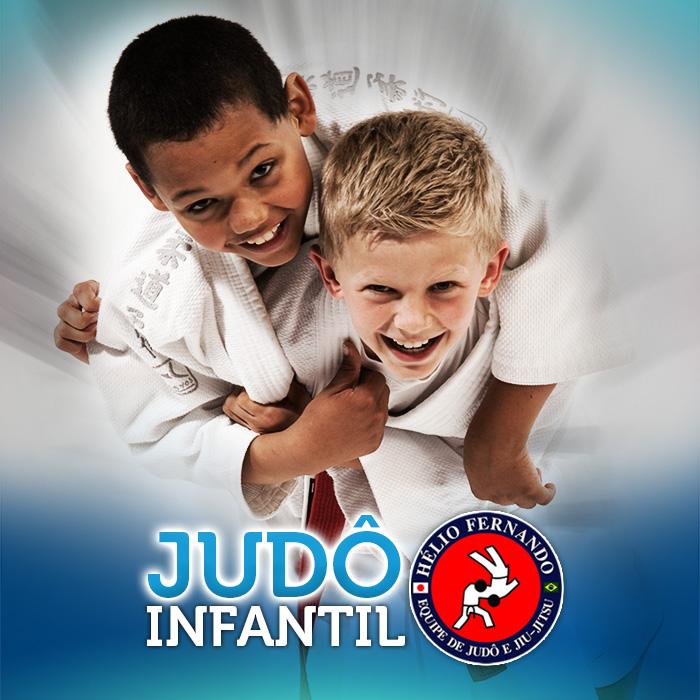 Judô Infantil com a Equipe Hélio Fernando