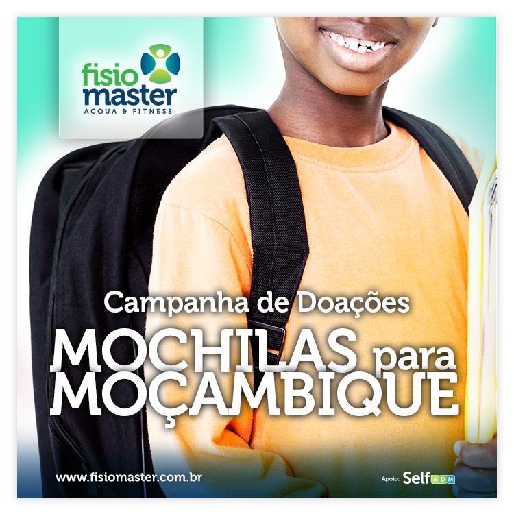 Mochilas para Moçambique