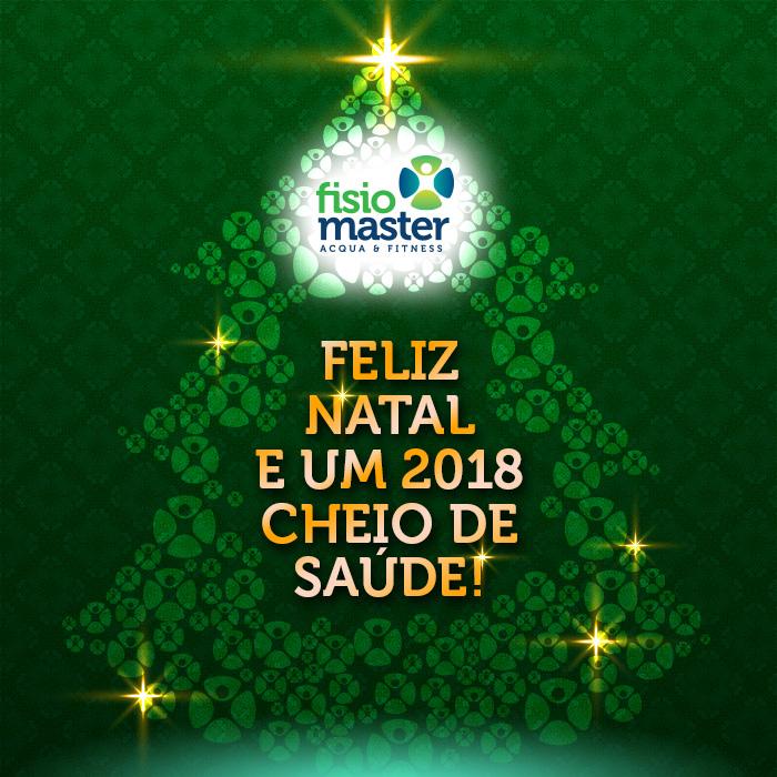 Feliz Natal e um 2018 cheio de Saúde!