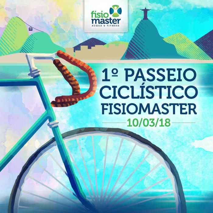 1º Passeio Ciclístico Fisiomaster