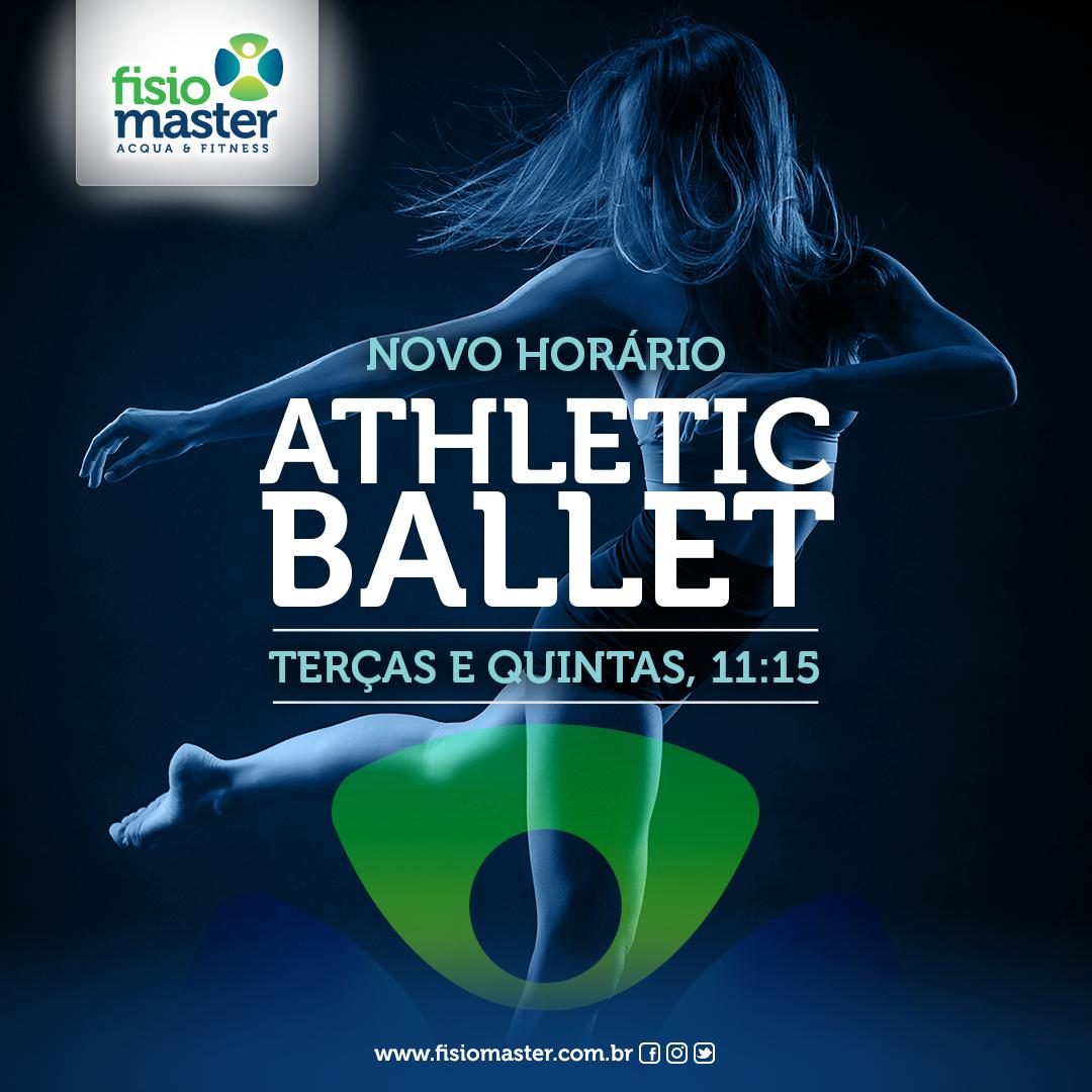 Novo horário de Athletic Ballet
