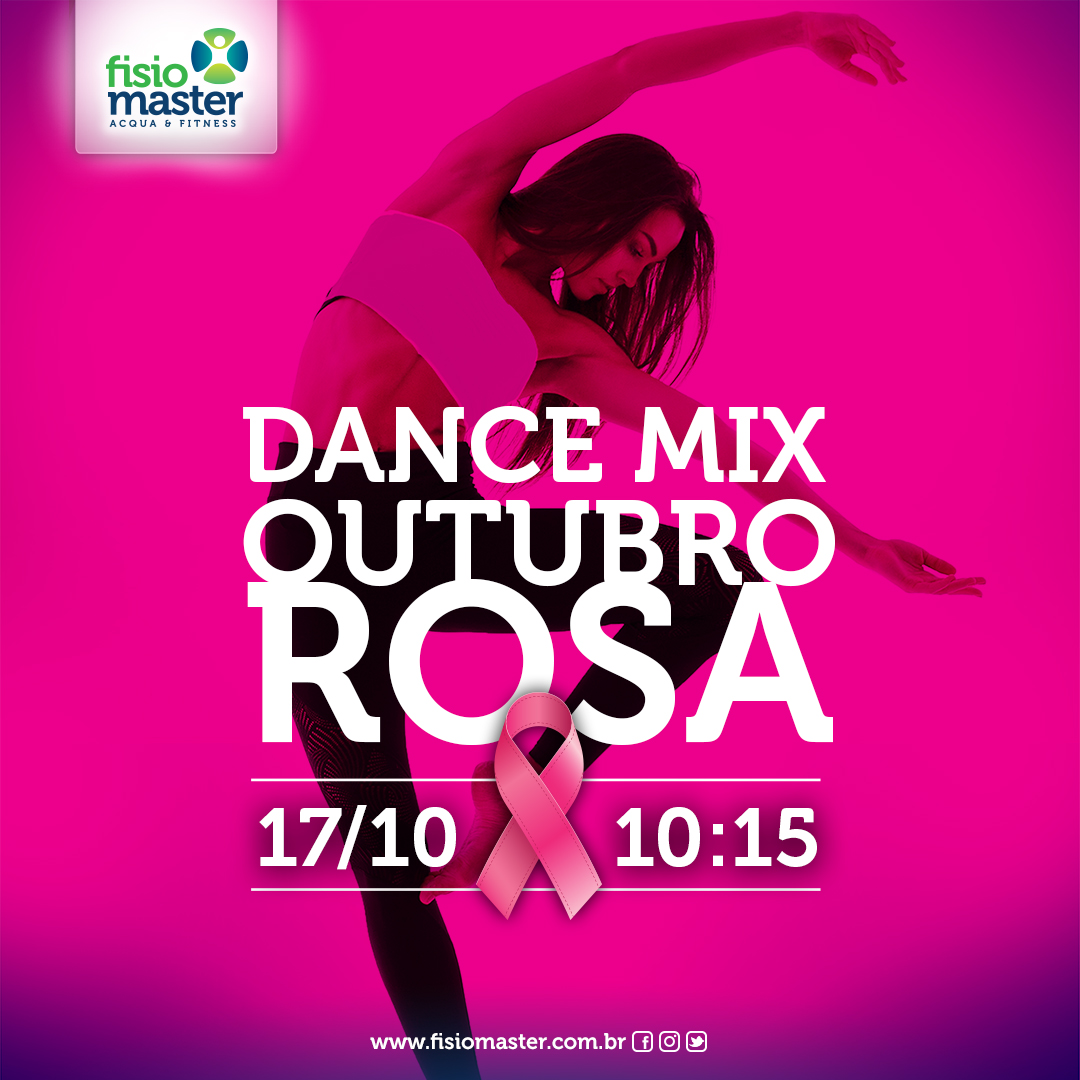 Dance Mix – Outubro Rosa