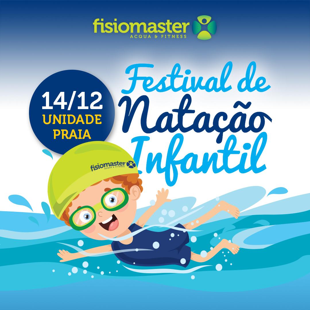 Festival e Natação Infantil